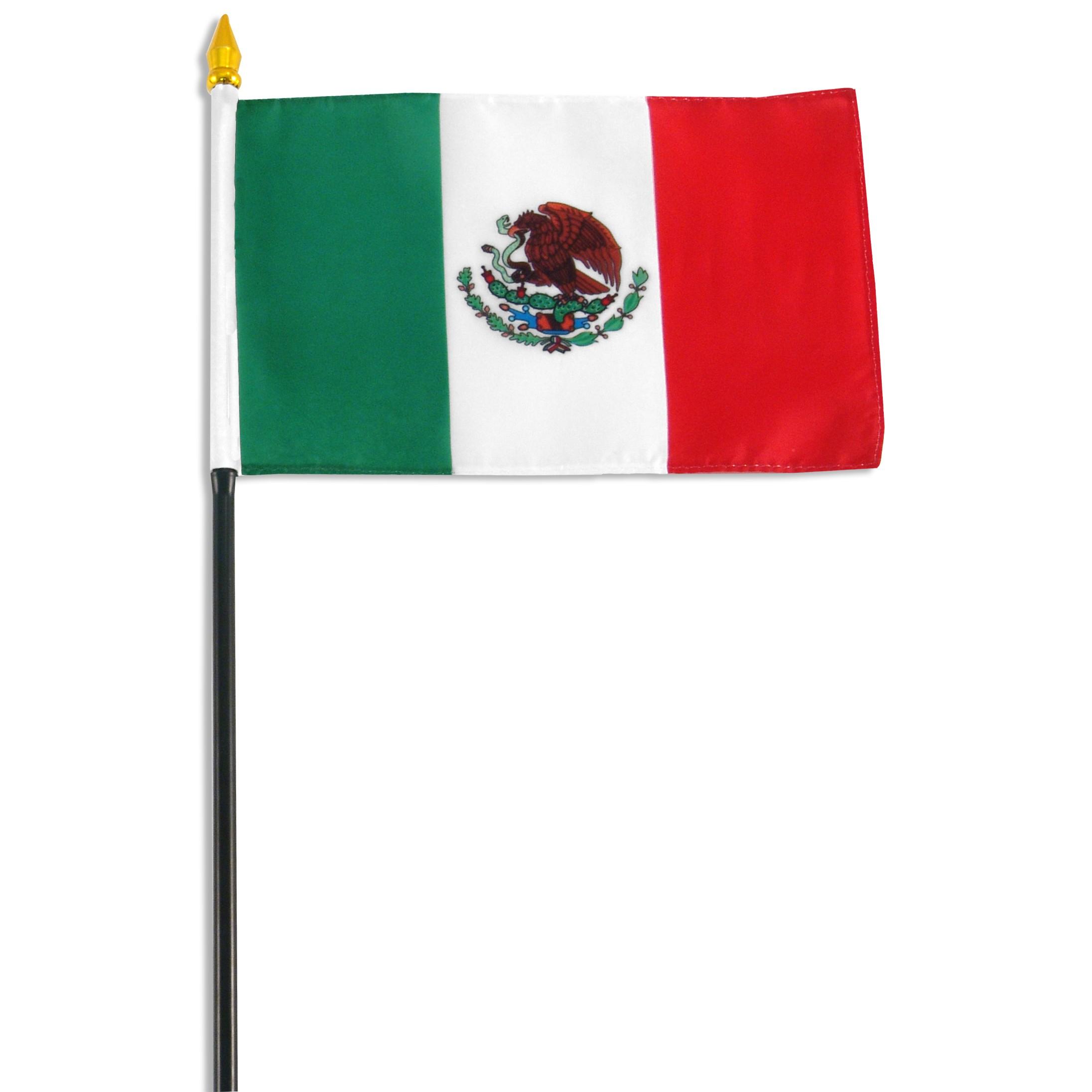 2192x2192 Mexico Flag 4 X 6 Flags Of Mexico Stick Flag