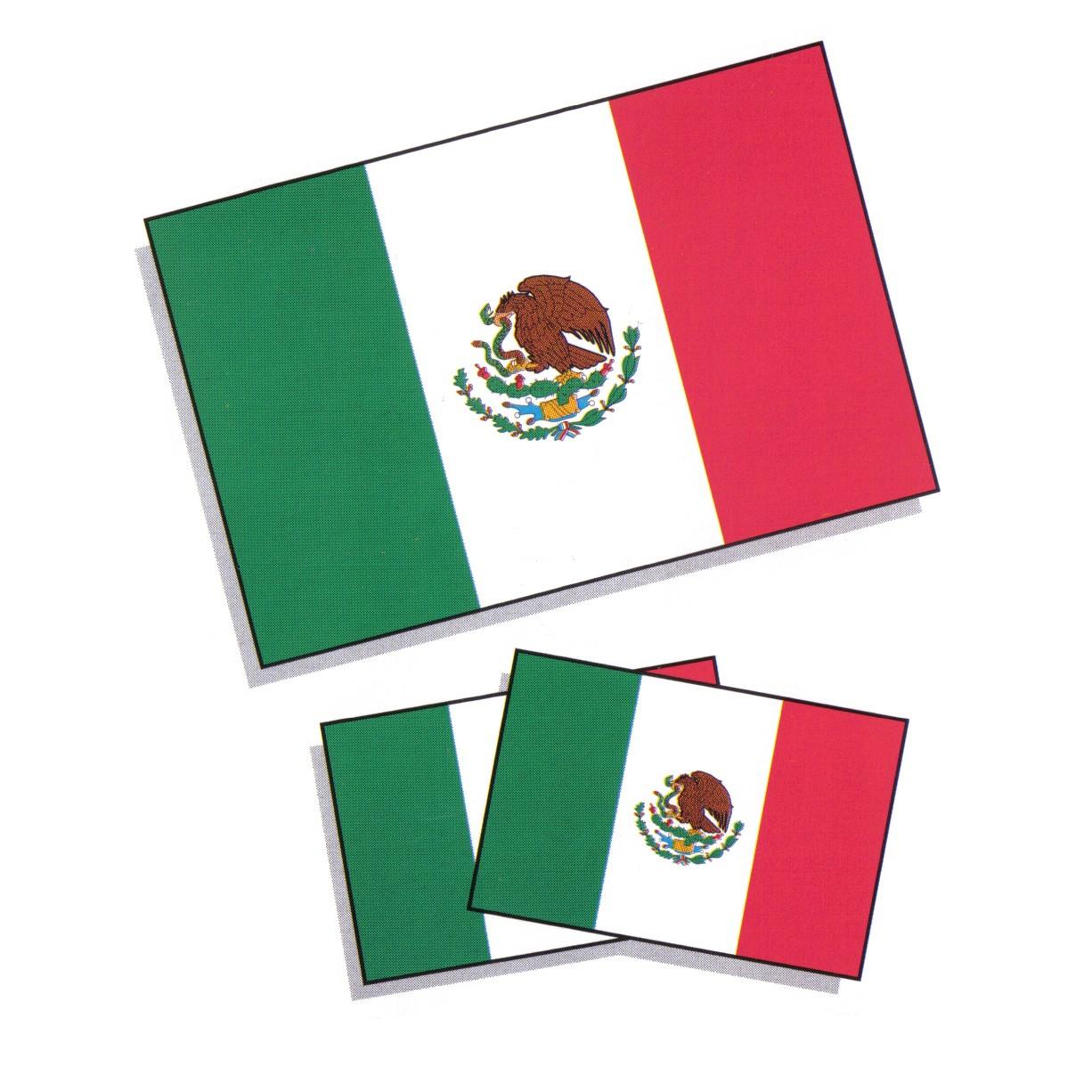 1226x1226 Mexico Flag Clipart