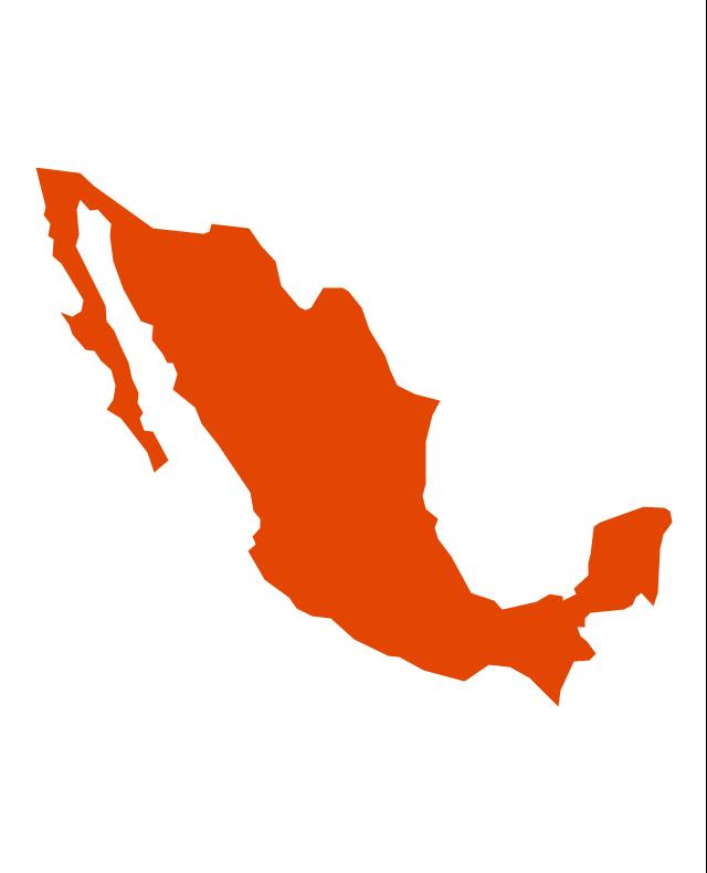640x790 Mexico Map Vector Mexico Map