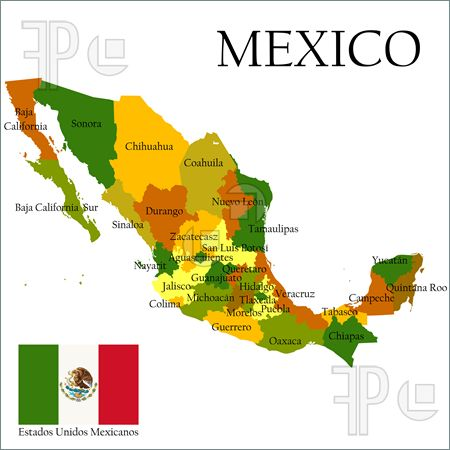 450x450 Printable Mexican Flag Illustration Mexico, United States