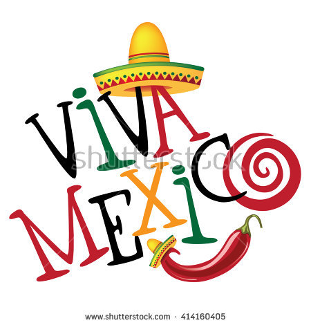450x470 Viva Mexico Clipart