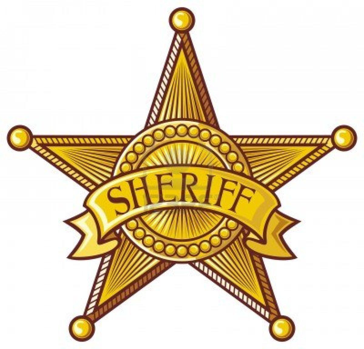 1200x1152 Free Sheriff Badge Clipart Image