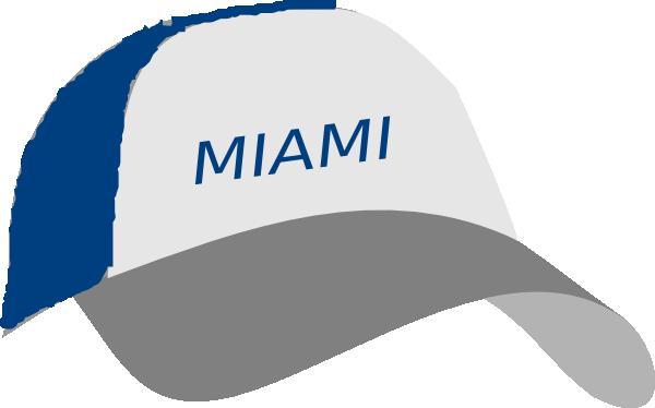 600x374 Miami Cap Clip Art