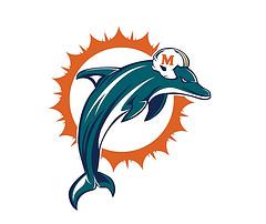 240x202 Miami Dolphins Clipart