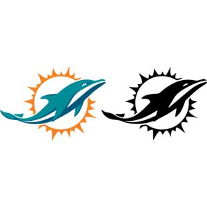 300x300 Dolphins Clipart Logo