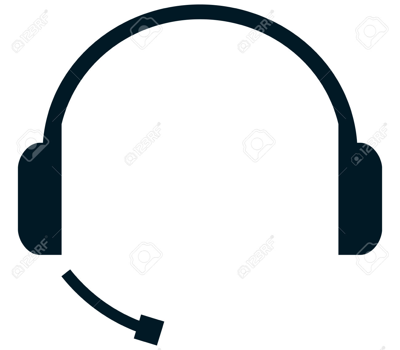 1300x1139 Headphones Clipart Vector