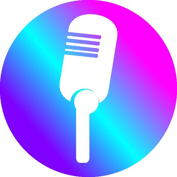 600x600 Microphone Clip Art
