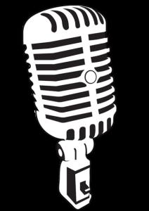212x300 Microphone Clipart Antique
