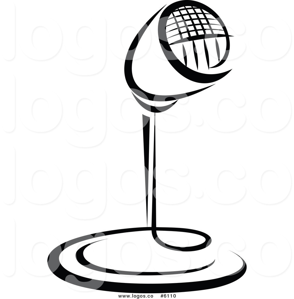 1024x1044 Royalty Free Clip Art Vector Logo Of A Black And White Retro Radio