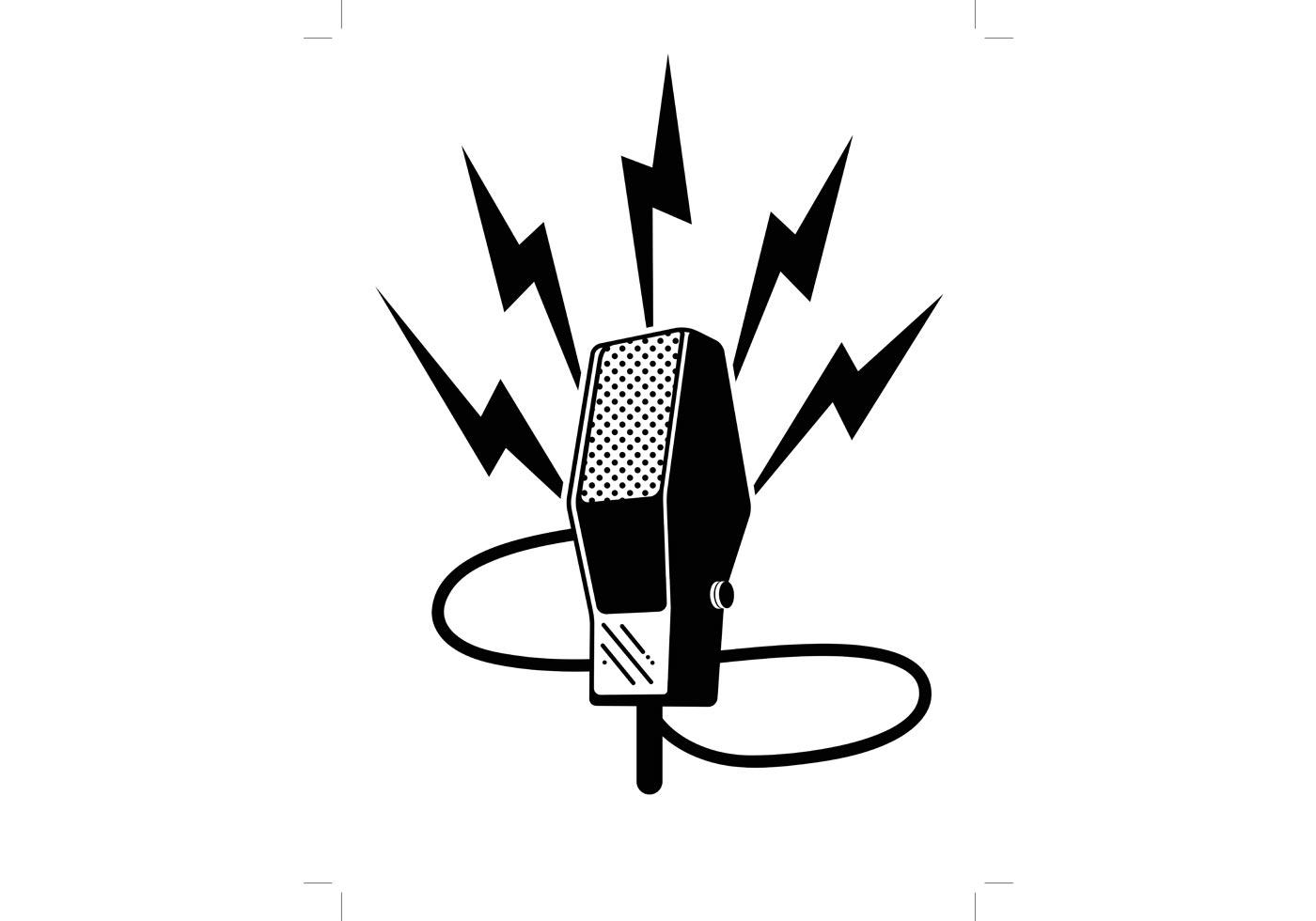 1400x980 Best Free Microphone Vector File Free Free Vector Art, Images