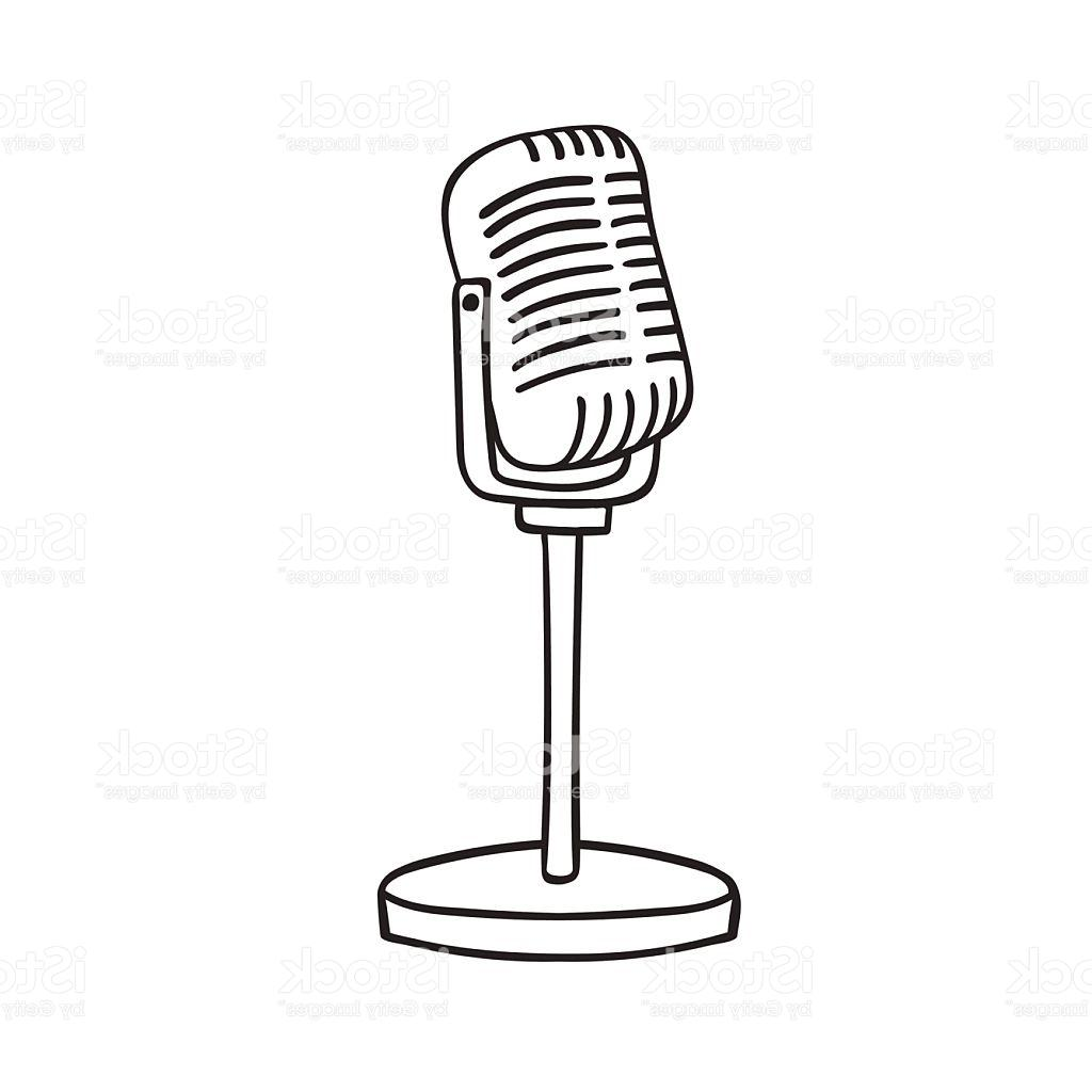 1024x1024 Best Free Old Microphone Vector Cdr