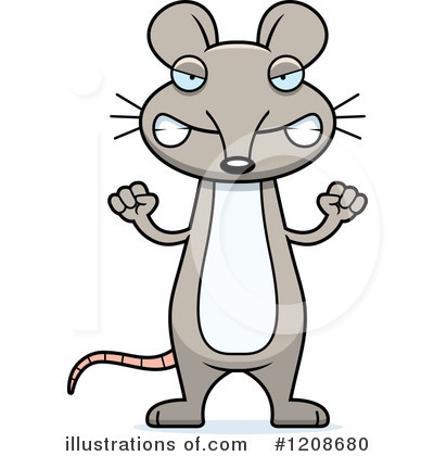 400x420 Mice Clipart Angry