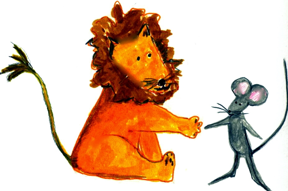 927x615 Mice Clipart Lion
