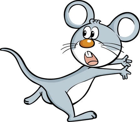 450x391 Mice Clipart Noisy