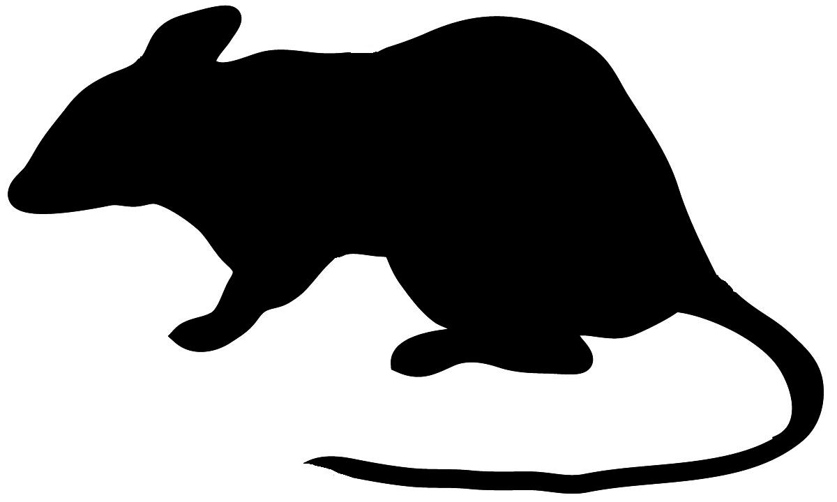 1200x720 Mice Clipart Silhouette