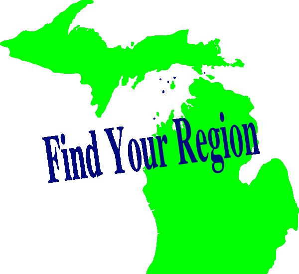 600x550 Michigan Region Clip Art