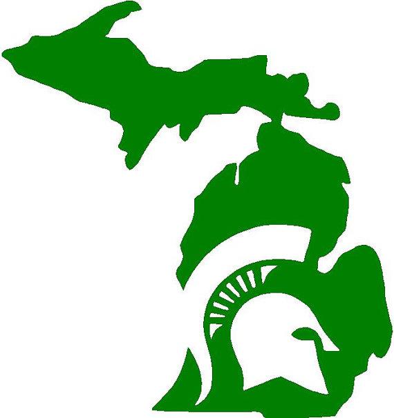 570x606 Michigan Clipart Michigan Mitten
