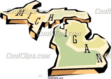 375x266 Michigan Clipart Michigan State Clipart