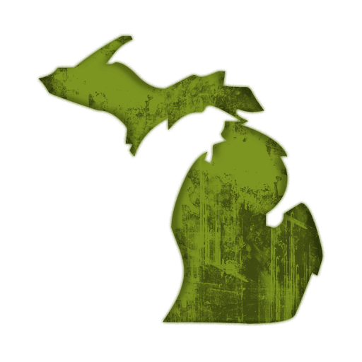 512x512 Best Photos Of State Of Michigan Clip Art