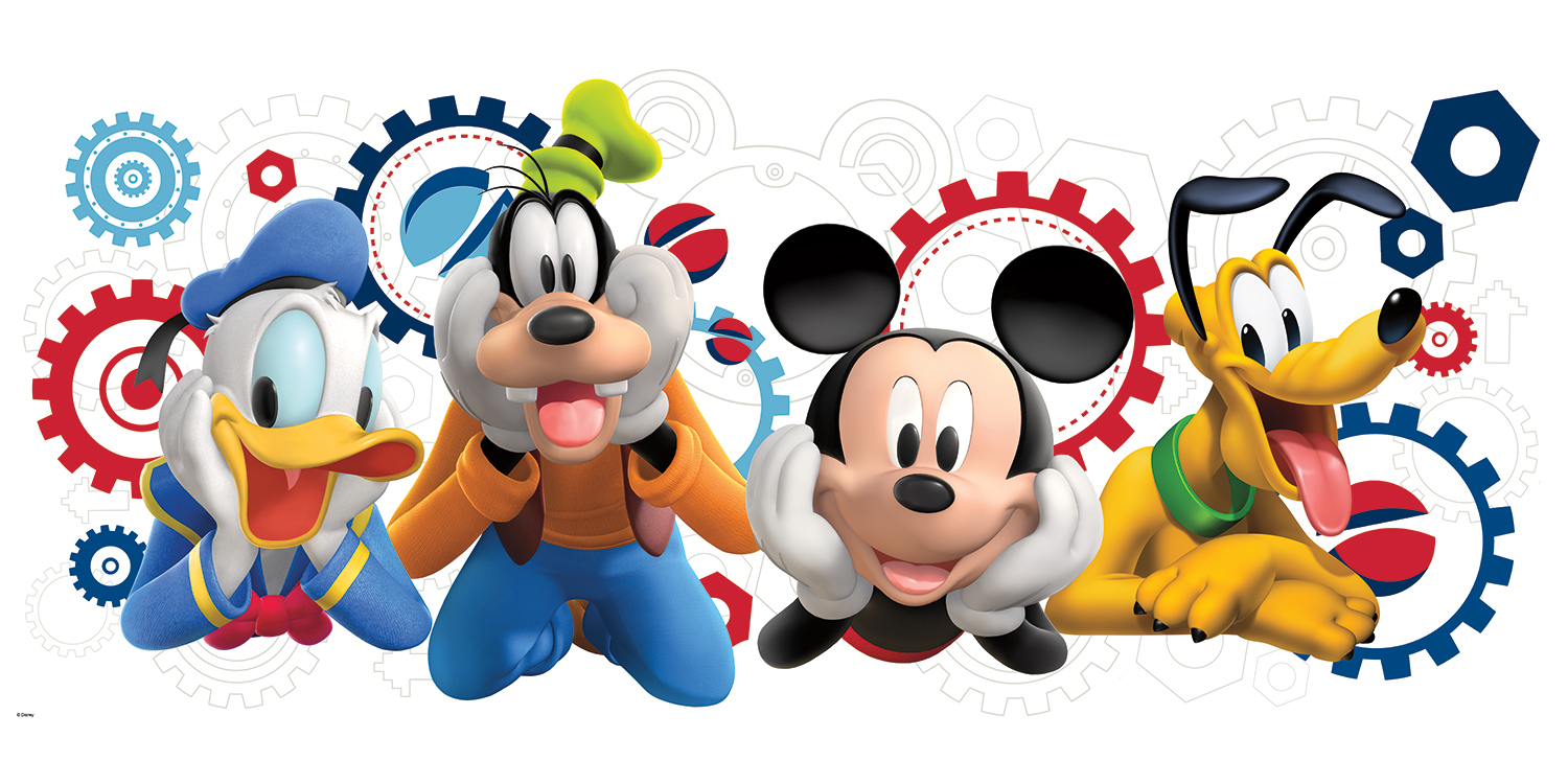 1500x750 Free Mickey Mouse Clubhouse Clipart Image