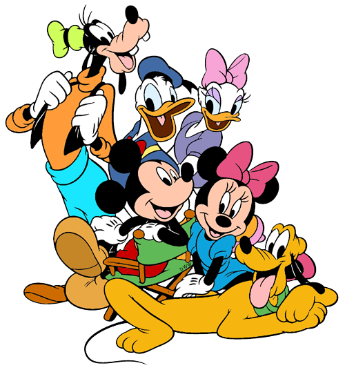 500x536 Mickey Mouse And Friends Clip Art 2 Disney Clip Art Galore