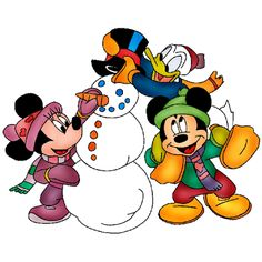 236x236 Mickey And Friends Christmas Clipart