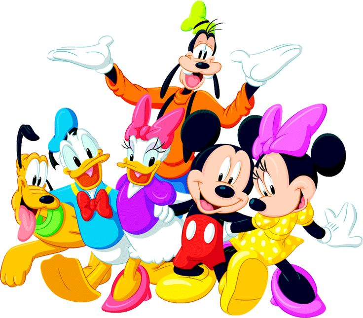 736x645 Birthday Clipart Mickey And Friend
