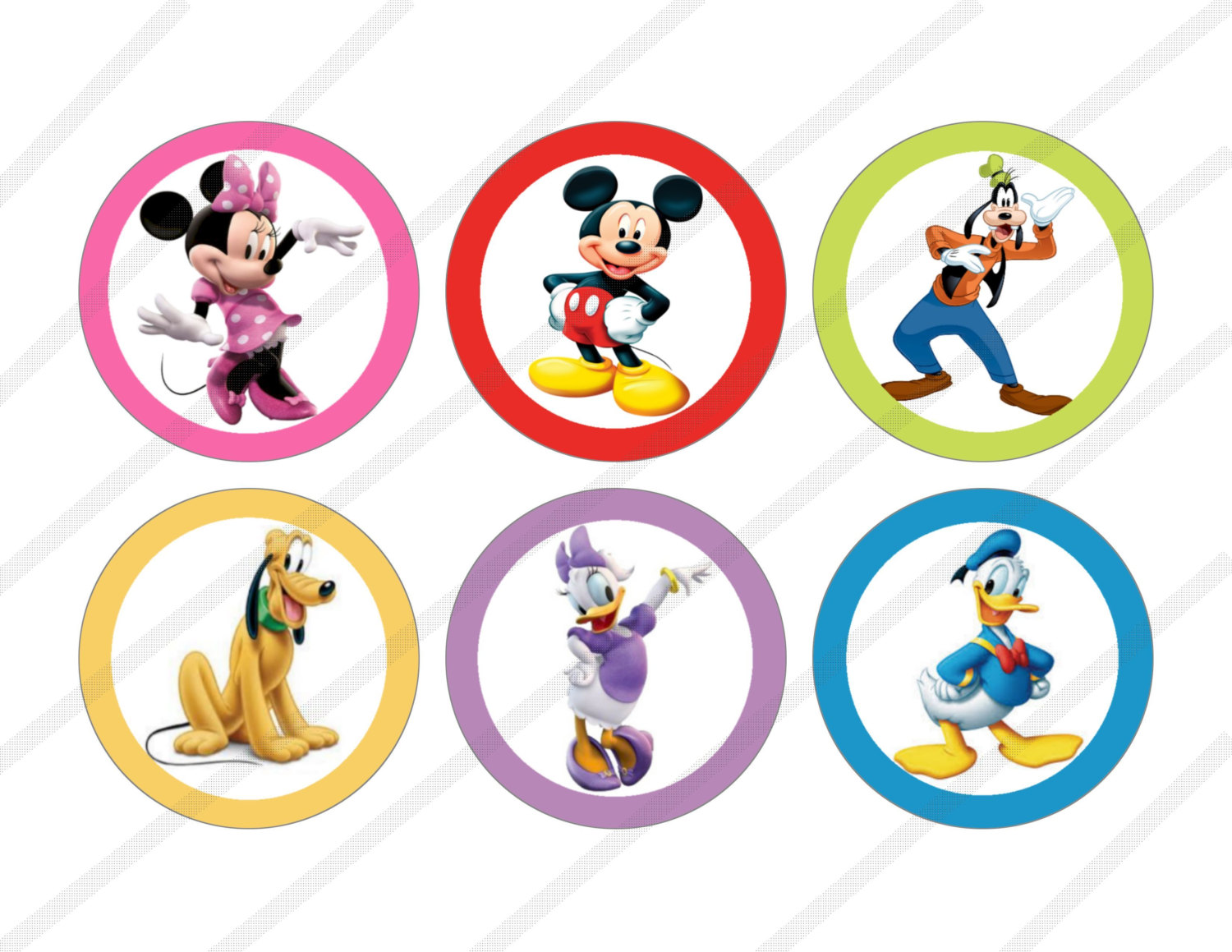 1500x1159 Mickey Clubhouse Character Birthday Clipart