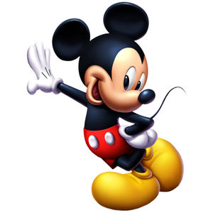 300x300 Mickey Mouse 1st Birthday Clipart