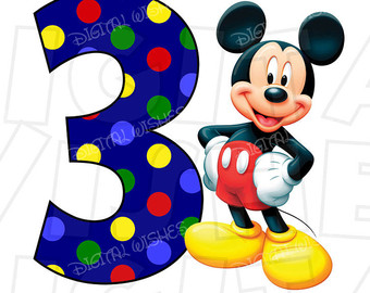 340x270 Mickey Mouse Birthday Etsy