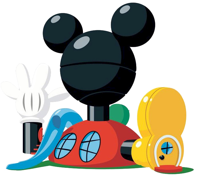 684x617 Mickey Mouse Motorcycle Graphic Clipart