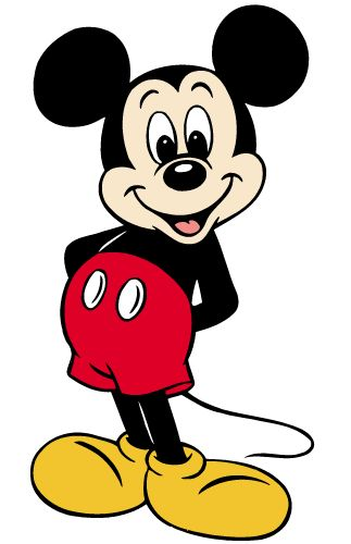 323x500 Free Mickey Mouse Clip Art