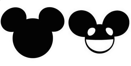 435x222 Mickey Ears Clipart