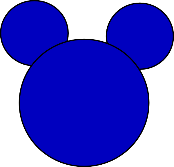 600x574 Mickey Mouse 3 Clip Art