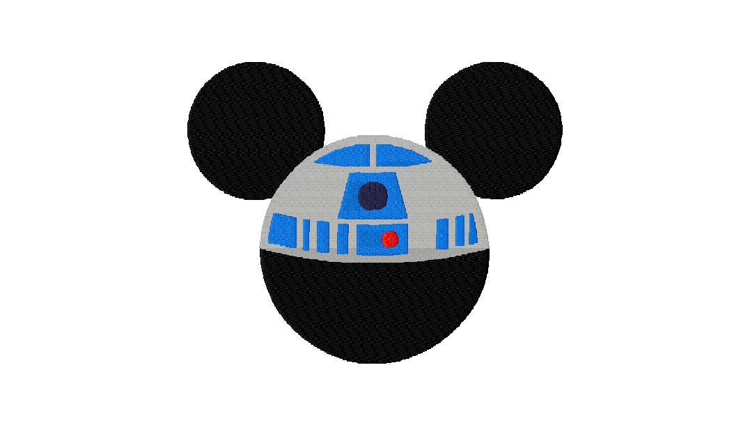1077x610 Mickey Mouse Clipart Star Wars