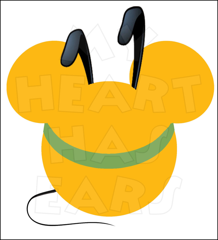 929x1024 Mickey Mouse Dressed As Pluto Instant Download Digital Clip Art