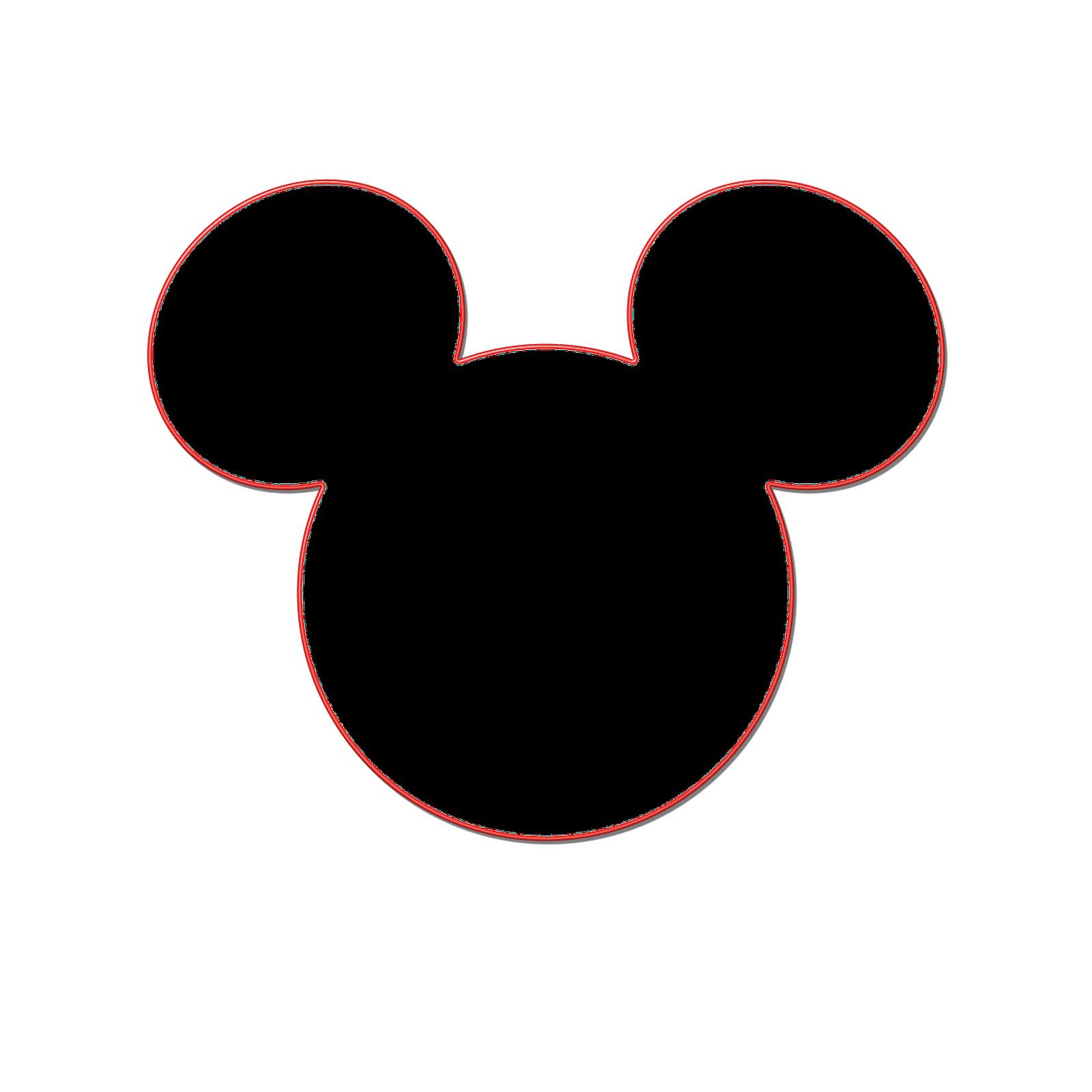 1600x1600 Mickey Mouse Ears Clip Art Clipart 5