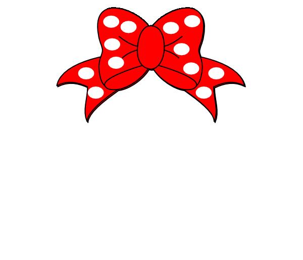 600x514 Minnie Mouse White Clip Art