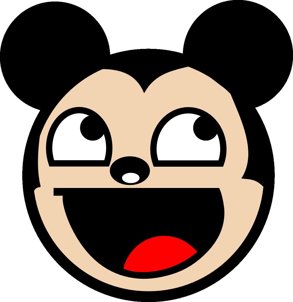 1160x1192 Mickey Mouse Face (Id 66014) Buzzerg