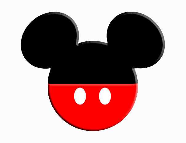 604x467 Mickey Mouse Head Clip Art