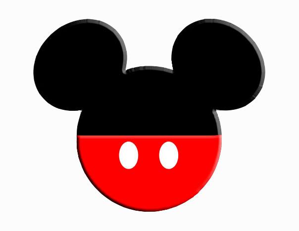 604x467 Mickey Mouse Head Clip Art
