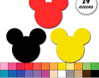 340x270 Mickey Head Etsy