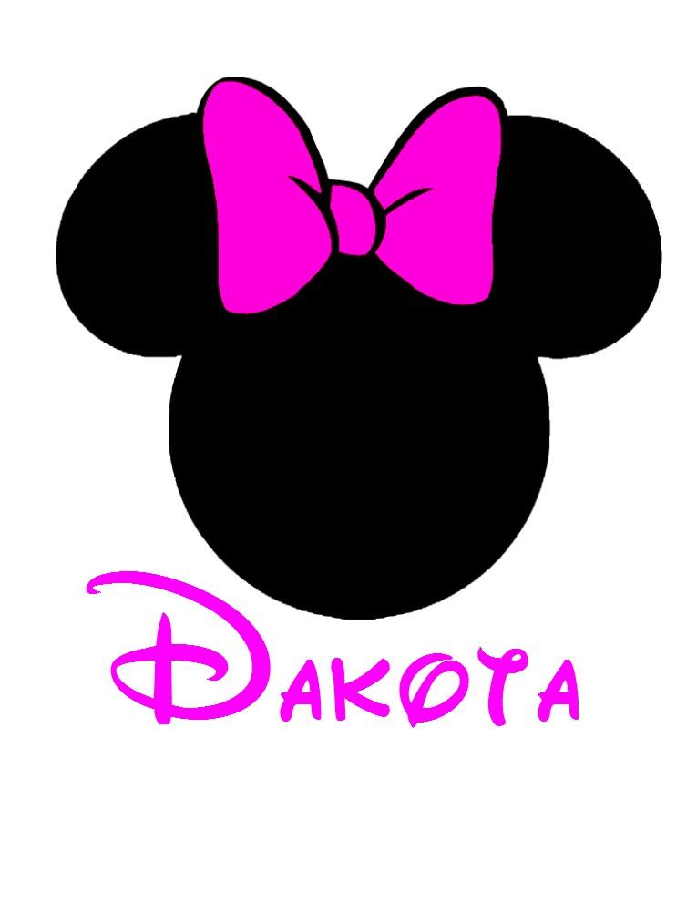 765x990 Minnie Head Clipart