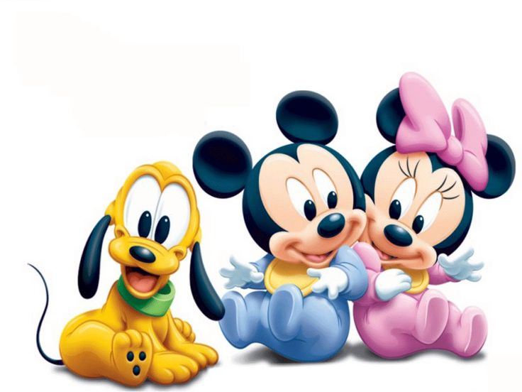 Mickey Mouse And Friends Clipart