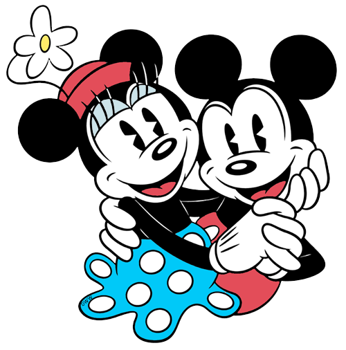 mickey mouse and friends clipart free download best Minnie Mouse Bow Clip Art Mickey Mouse Outline