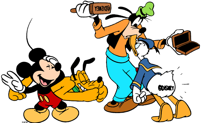 Mickey Mouse And Friends Clipart | Free download best ...