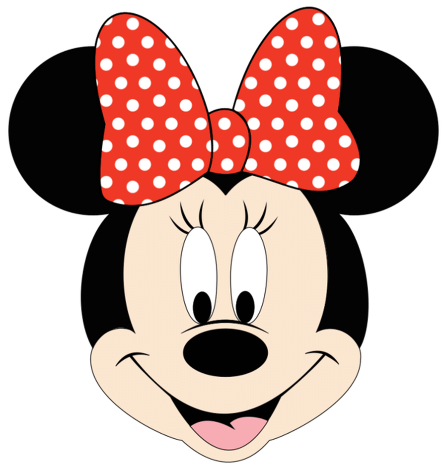 900x947 Large Minnie Mouse Clipart Kid