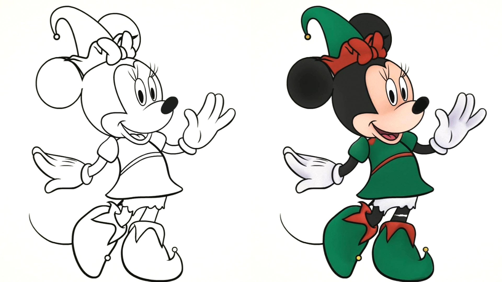 1920x1080 Winter clipart mickey mouse