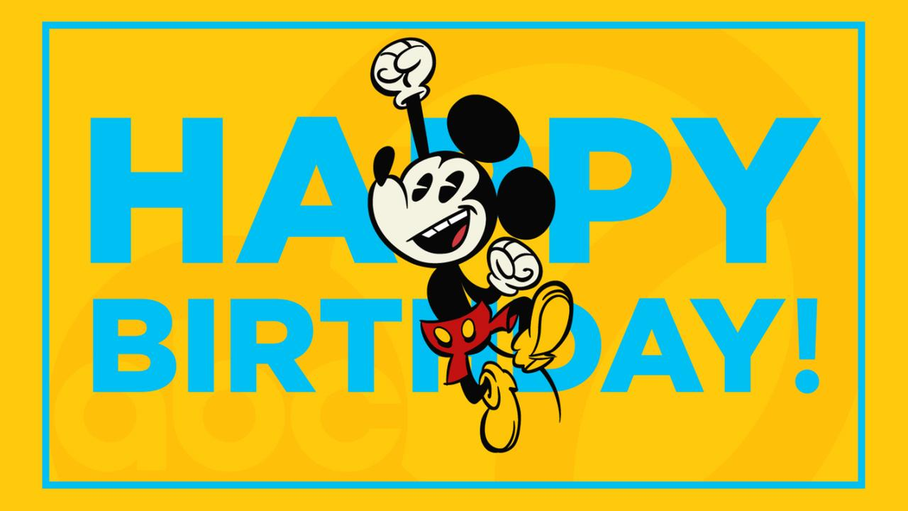 1280x720 Disney Parks Announce Special Mickey Mouse Birthday Celebrations