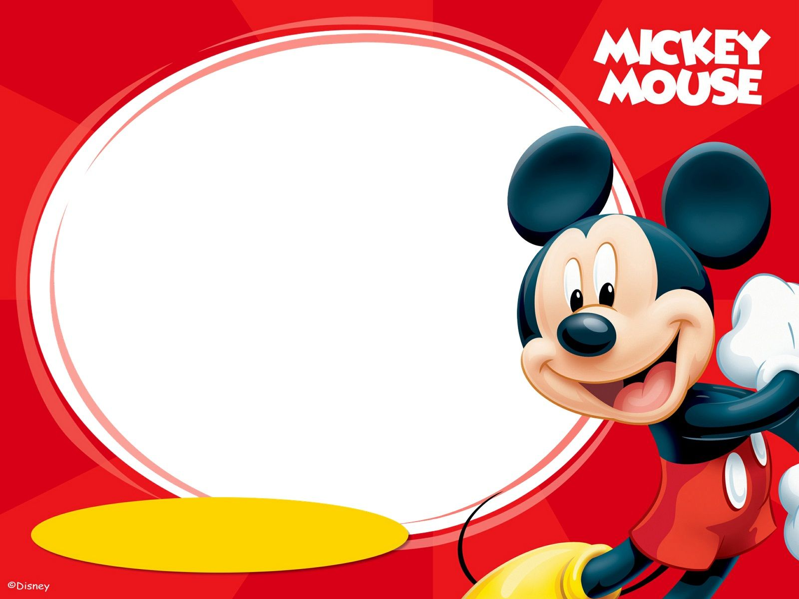 1600x1200 Mickey Mouse Birthday 08009